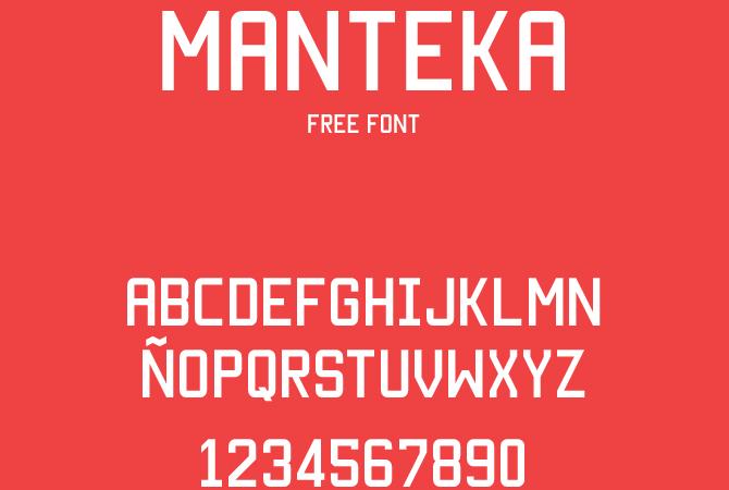 Manteka Font