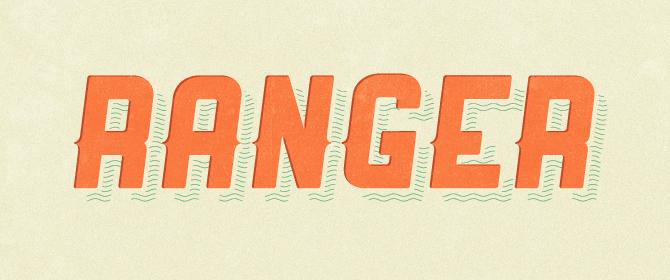 Ranger Ücretsiz Font