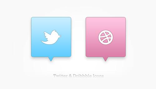 twitter-drible-simgeleri