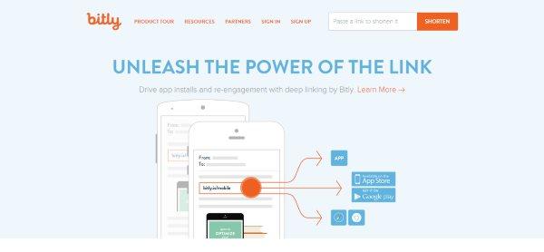 Bitly URL Shortener Link Management Platform
