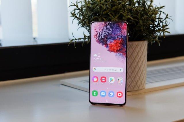 Galaxy S20 Ekran
