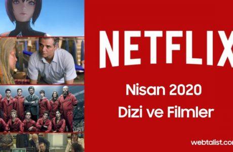 Netflix Nisan 2020