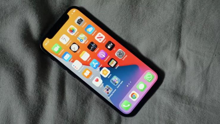 iphone 12 mini ekran